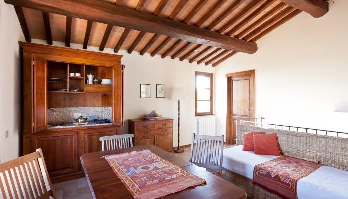 Apartment 5 Living room Casale Pundarika