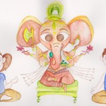 Yoga bambini, Casale Pundarika, vacanze Yoga