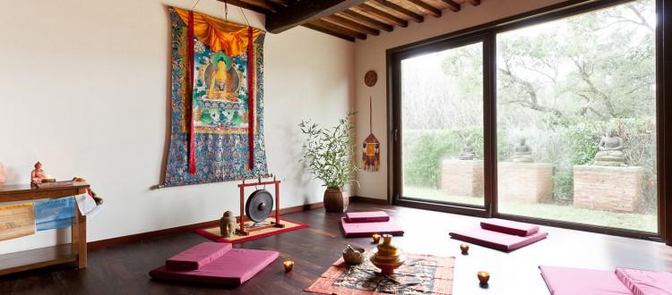 Meditation Room Casale Pundarika