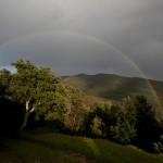 Rainbow over Casale Pundarika