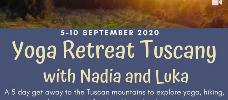Yoga retreat in tuscany