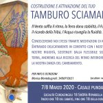Costruzione Tamburo Sciamanico in Toscana a Marzo